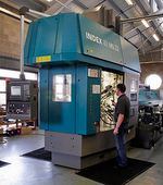 The Index MS22C multi-spindle auto installed at the Sturminster Newton factory of MJB Precision.